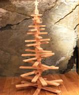 Sapin de noêl en bois